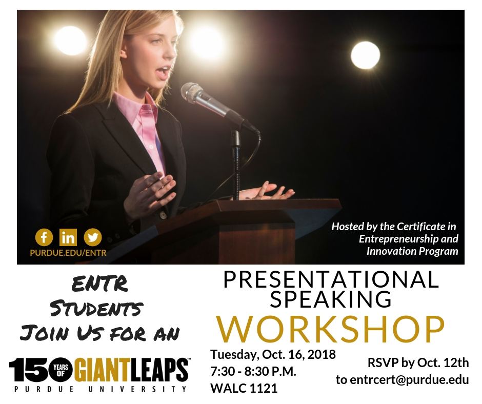 Presentationla Speaking Workshops