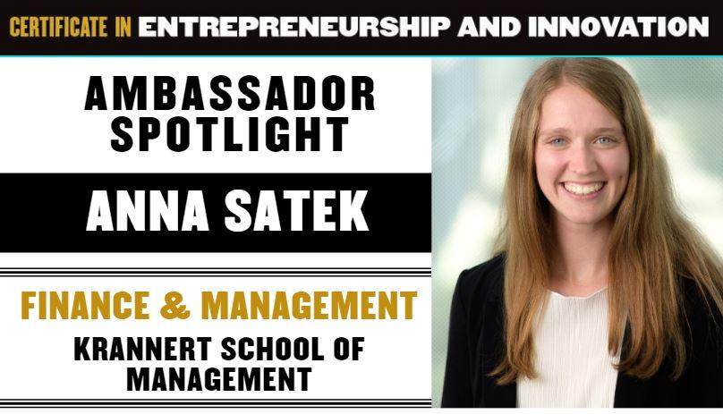 Anna Satek Spotlight