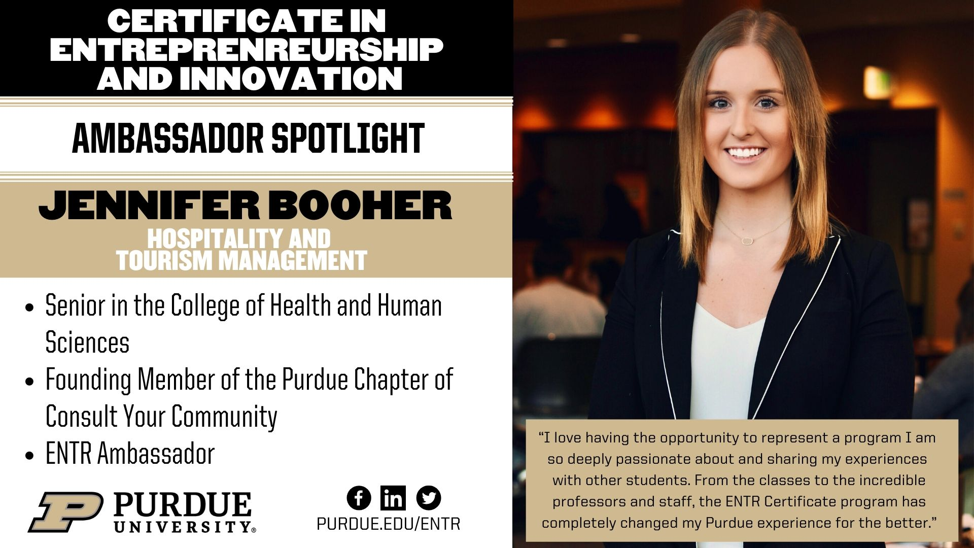 Jennifer Booher spotlight header