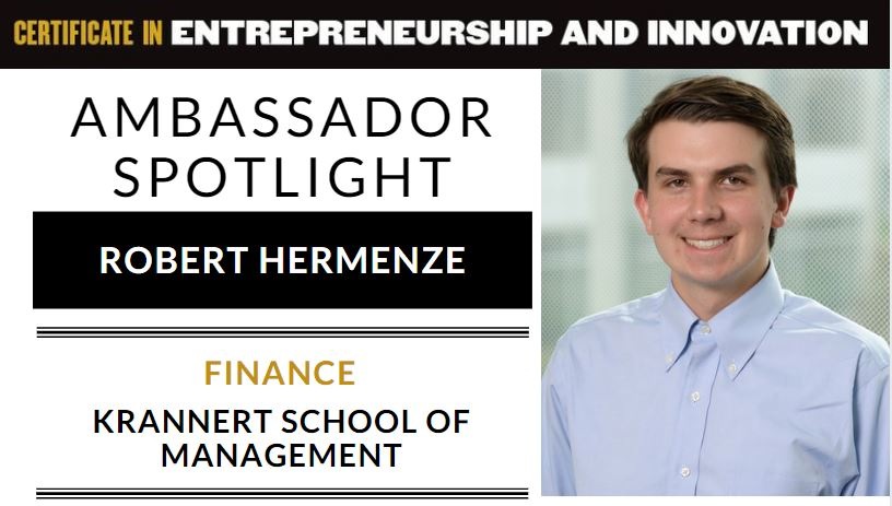 Robert Hermenze spotlight