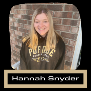 Hannah Snyder Profile Picture and text name