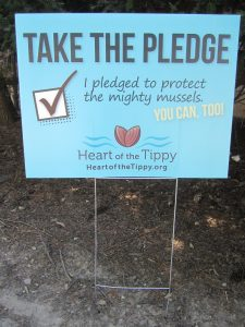Take the Pledge Yard Sign