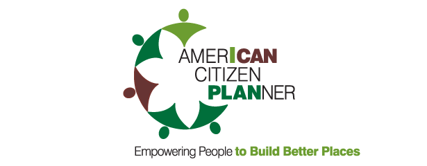 Logo for American Citizen Planner - Empowering People to Build Better Places