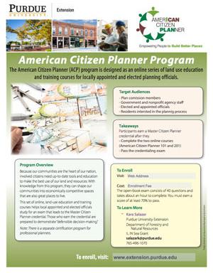 American Citizen Planner Flyer