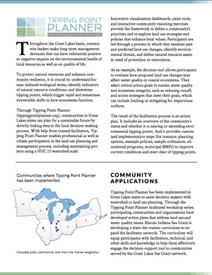 Tipping Point Planner Program Overview Flyer