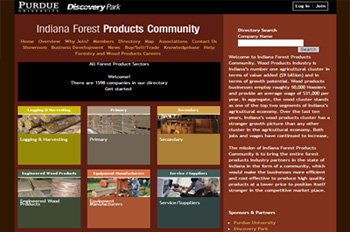 Indiana Forest Products Community