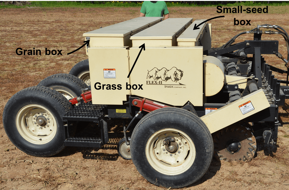 Seed Fillers and Carriers for Planting Native Warm-Season
