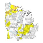 (Figure 1) US Drought Monitor.