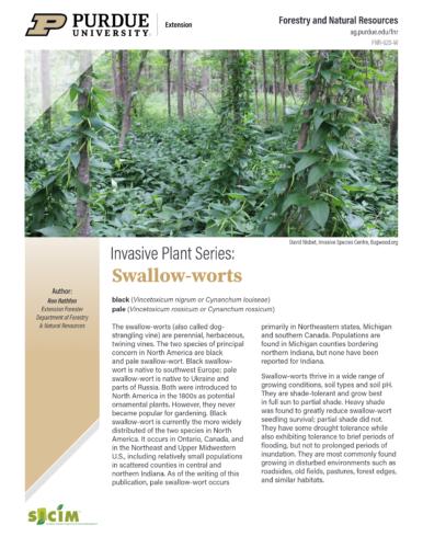Invasive Species Publication Thumbnail