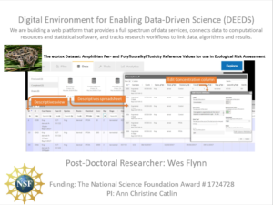 Digital Environment for Enabling Data-Driven Science (DEEDS)