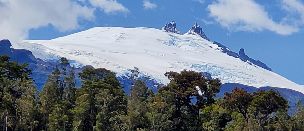 Melimoyu Volcanoe, Patagonia, Chile