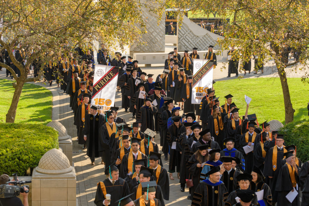 Students at Summer 2019 Commencement