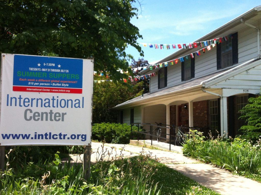 International Center in West Lafayette.