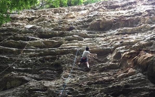 Rock Climbing Image.