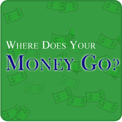 Where Does Your Money Go? program logo