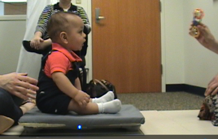 Postural Sway of Sitting Infants on Solid and Foam Surfaces while Engaged in Concurrent Tasks