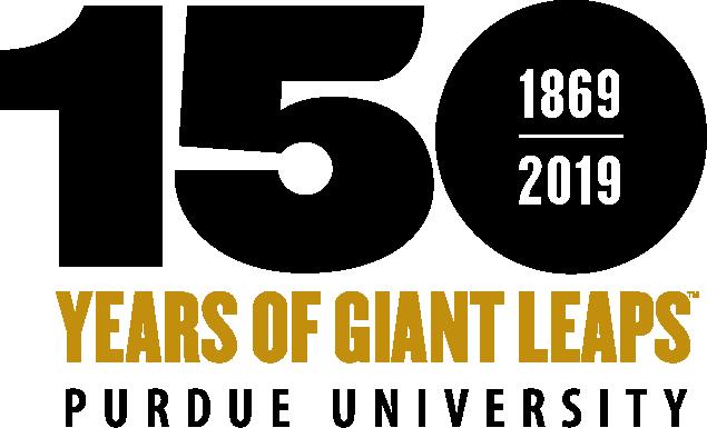 150 Years of Giant Leaps - 1869-2019 - Purdue University