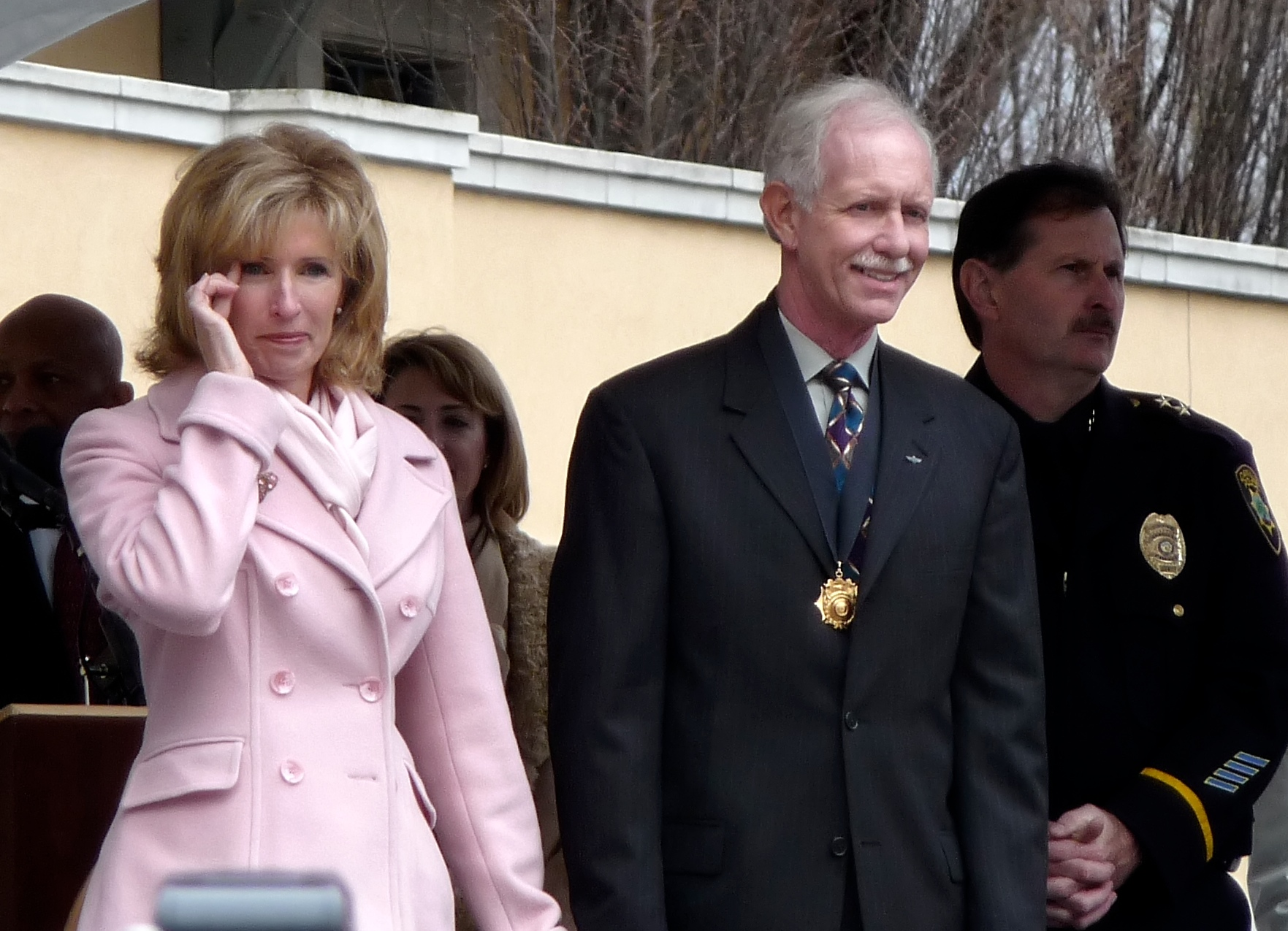 Captain Chesley Sullenberger and Wife Lorrie by Ingrid Taylar