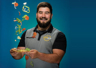 Brad Niemeier, Purdue HTM '12, Founder of Azzip Pizza