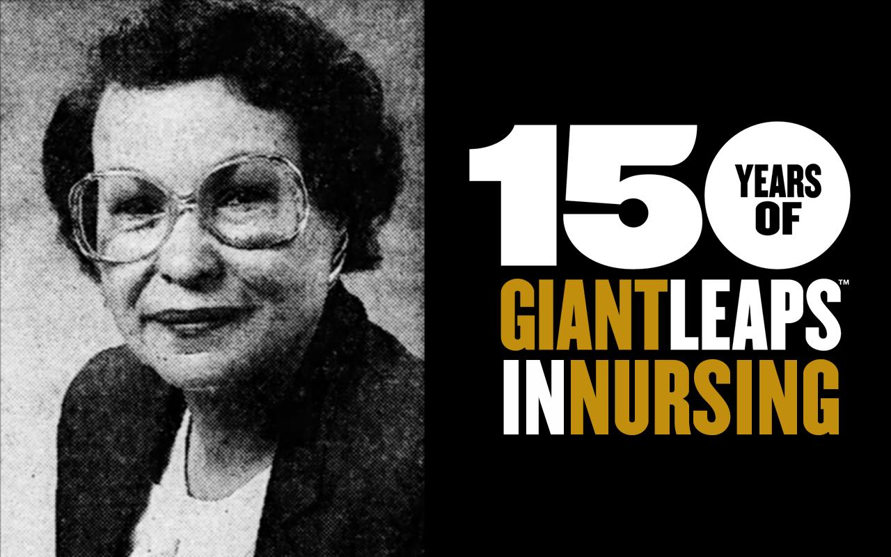 Clara Bell, Purdue Nursing faculty - 150 Years of Giant Leaps in Nursing
