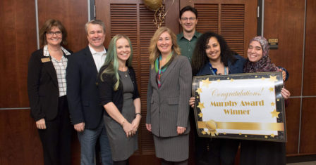 Jennifer Freeman wins Murphy Award for excellence in teaching