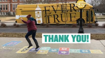 2019 Purdue Day of Giving Thank You