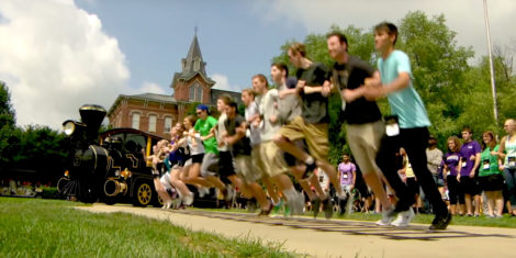Purdue students taking giant leaps