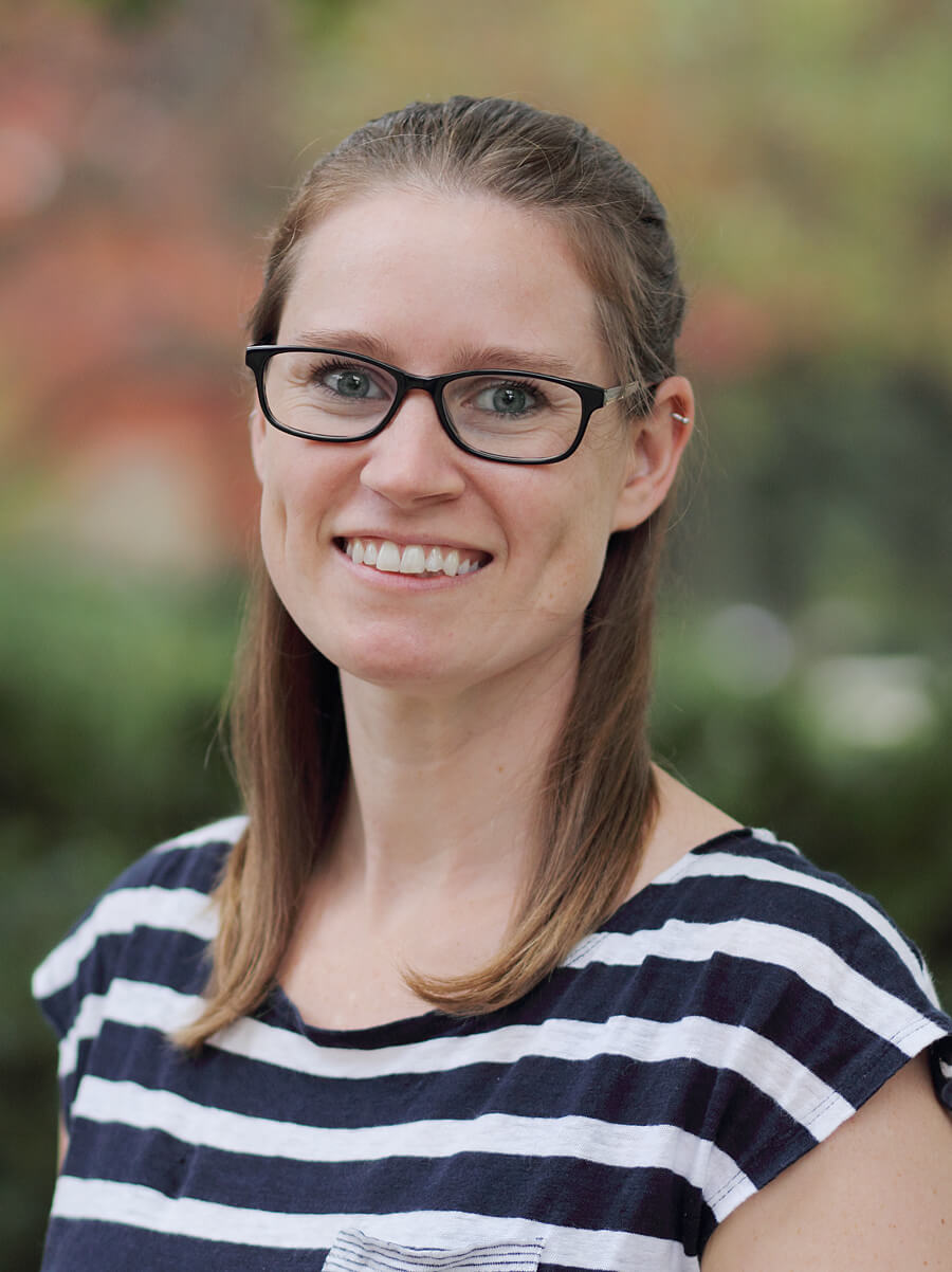 Kristine Marceau, assistant professor in the Department of Human Development and Family Studies at Purdue, conducts bibliometric analysis on puberty research