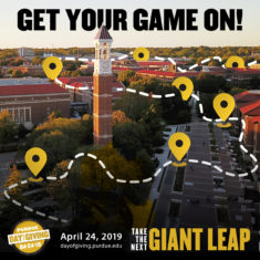 Get your game on with Goosechase app to win prized on Purdue Day of Giving
