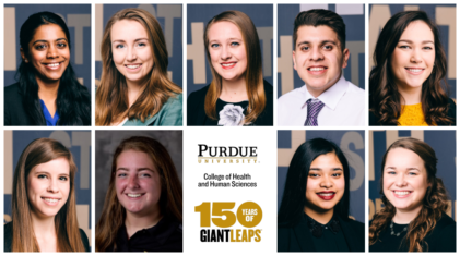 2019 Outstanding Seniors in Health and Human Sciences