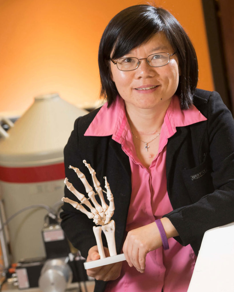 Linda Nie, associate professor in Purdue's School of Health Sciences
