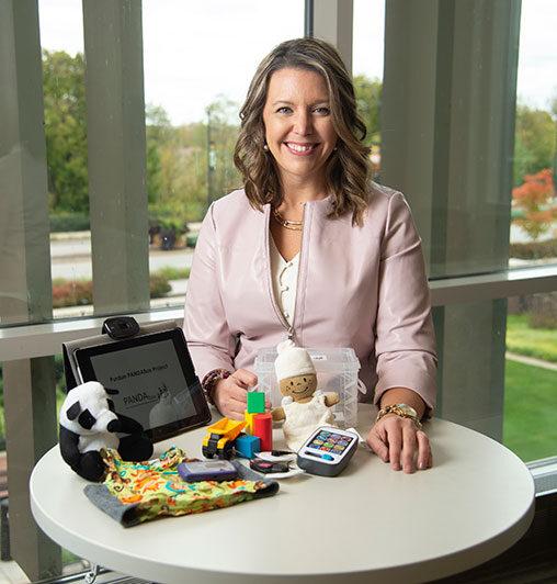 Bridgette Kelleher, associate professor of psychological sciences