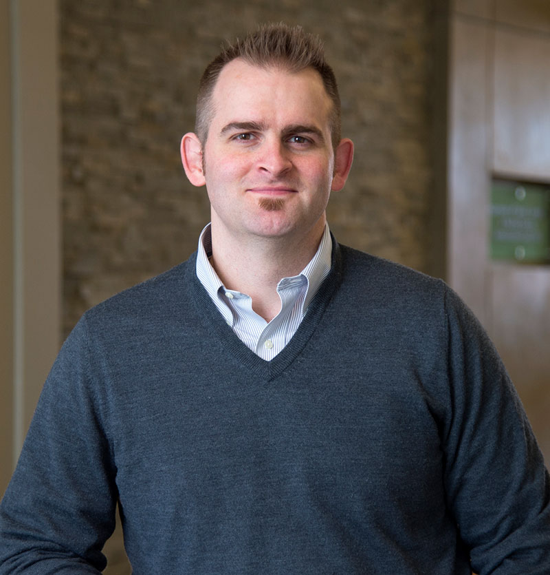 Brandon Keehn, associate professor of speech, language and hearing sciences