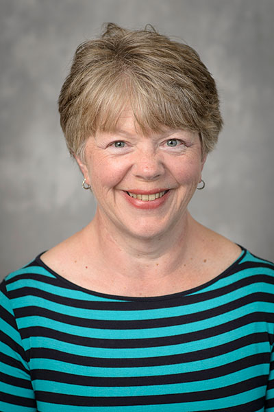 Dinah Dalder, clinical assistant professor and director of the Coordinated Program in Dietetics in Purdue University's Department of Nutrition Science.