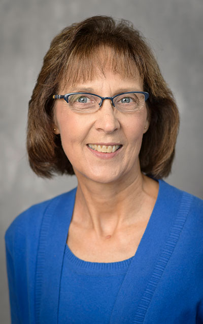 Donna Zoss, senior lecturer and assistant director of the Didactic Program in Nutrition and Dietetics in Purdue University's Department of Nutrition Science.