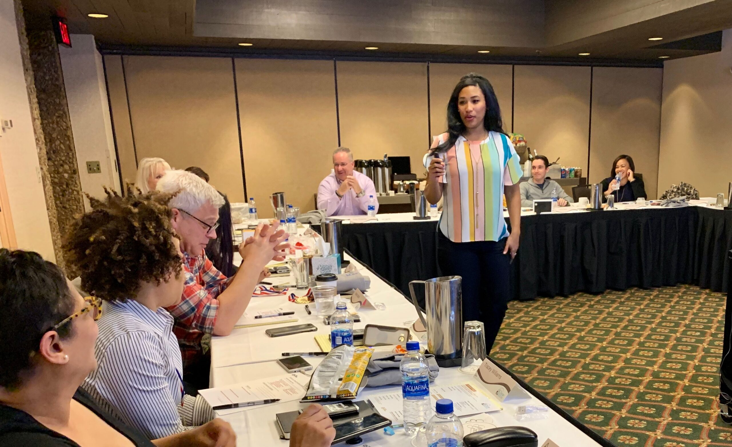 Hayes leads a custom Board of Directors Advance for the Chicago Association of Realtors.