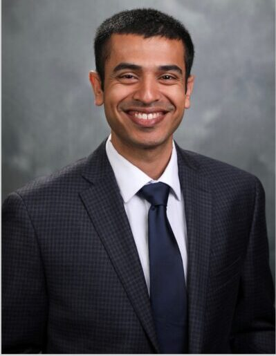 Akshay Thomas, a Purdue Health Sciences alumnus, is a physician at Tennessee Retina.