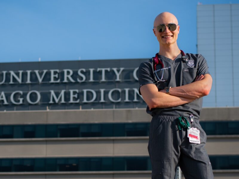 Purdue Psychological Sciences alumnus Jonathan Oskvarek is an innovation fellow at US Acute Care Solutions, and ER doctor at a community hospital in the Cleveland suburbs, and a clinical instructor of emergency medicine at Summa Health in Akron, Ohio.