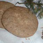 Pinus silvestris bark bread