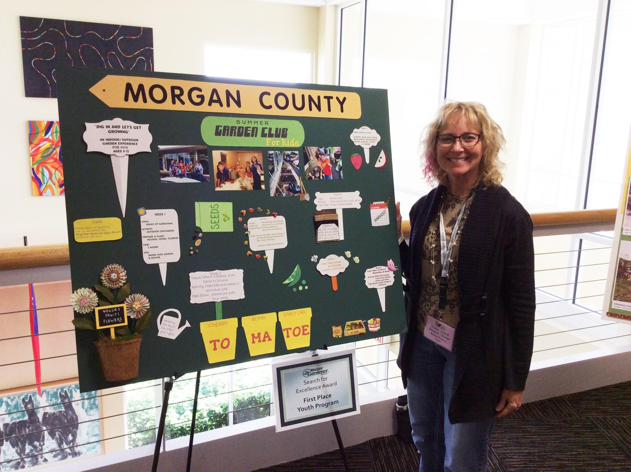 Morgon County Kids Garden Club