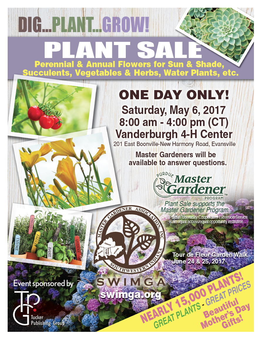 Southwestern Indiana Master Gardener Association Plant Sale Purdue Master Gardener Program