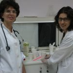 Drs. Markaki and Malandraki at the Radiology Department of Evangelismos Hospital