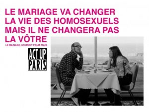 """Marriage will change the lives of homosexuals but it will not change your life"""