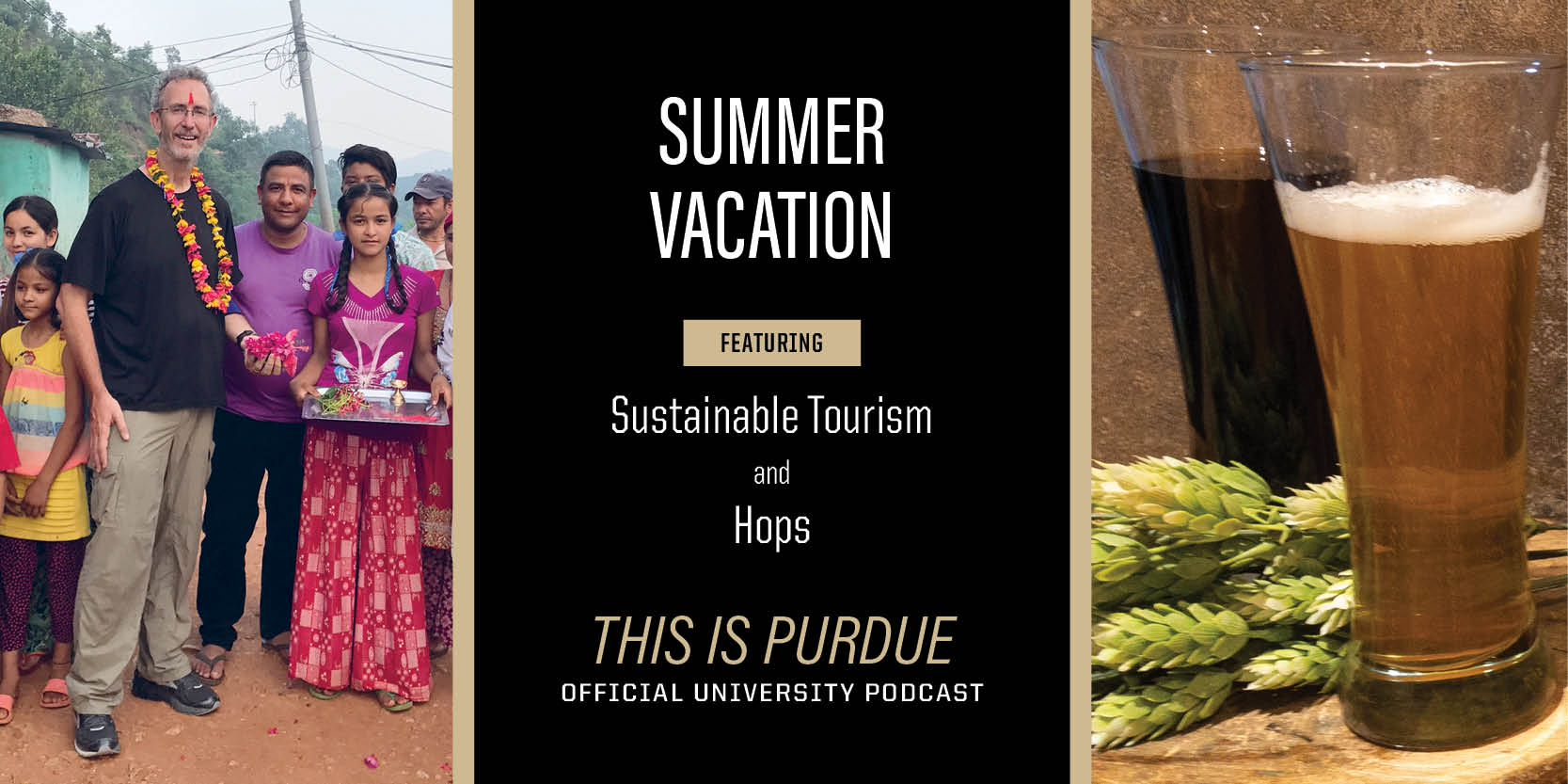 Summer Vacation featuring sustainable tourism and hops