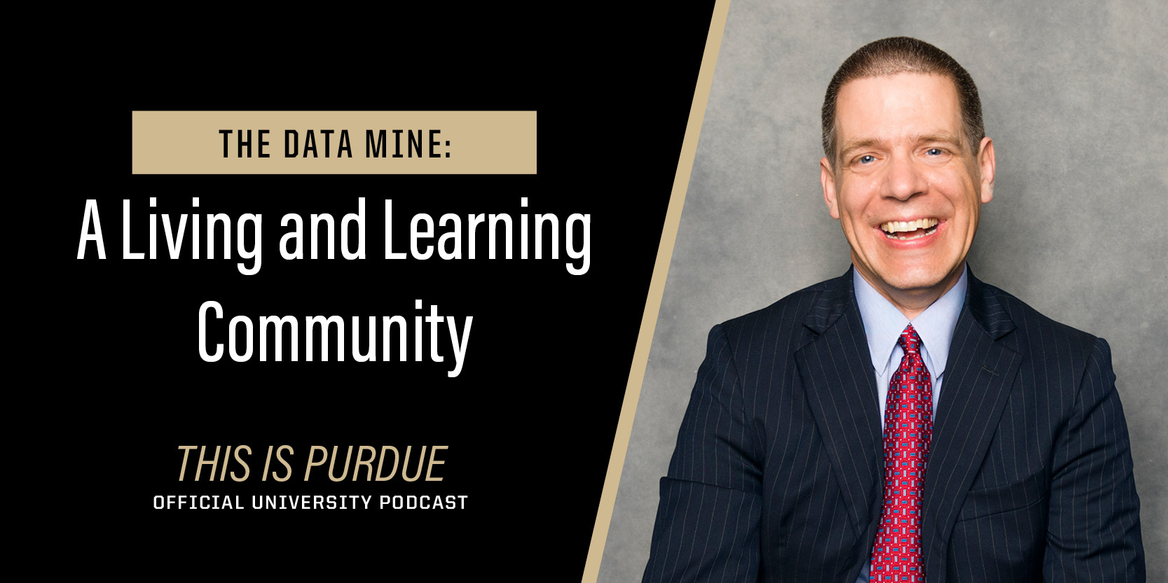 Mark Daniel Ward's image; the Data Mine: A Living and Learning Community