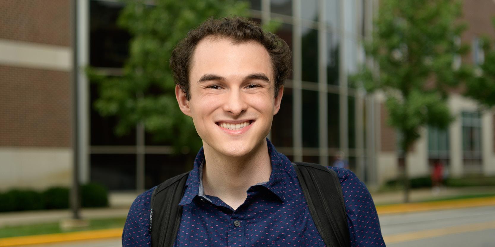 Portrait of Noah Alderton