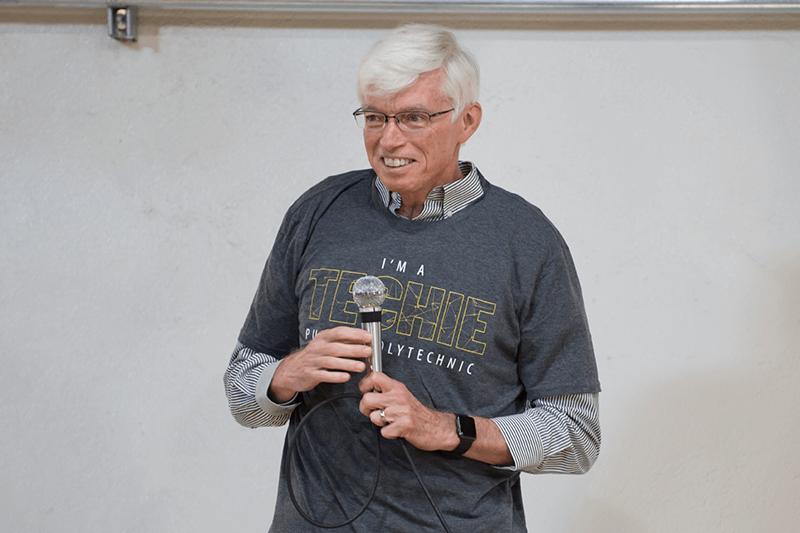 Gary Bertoline, dean of Purdue Polytechnic Institute.