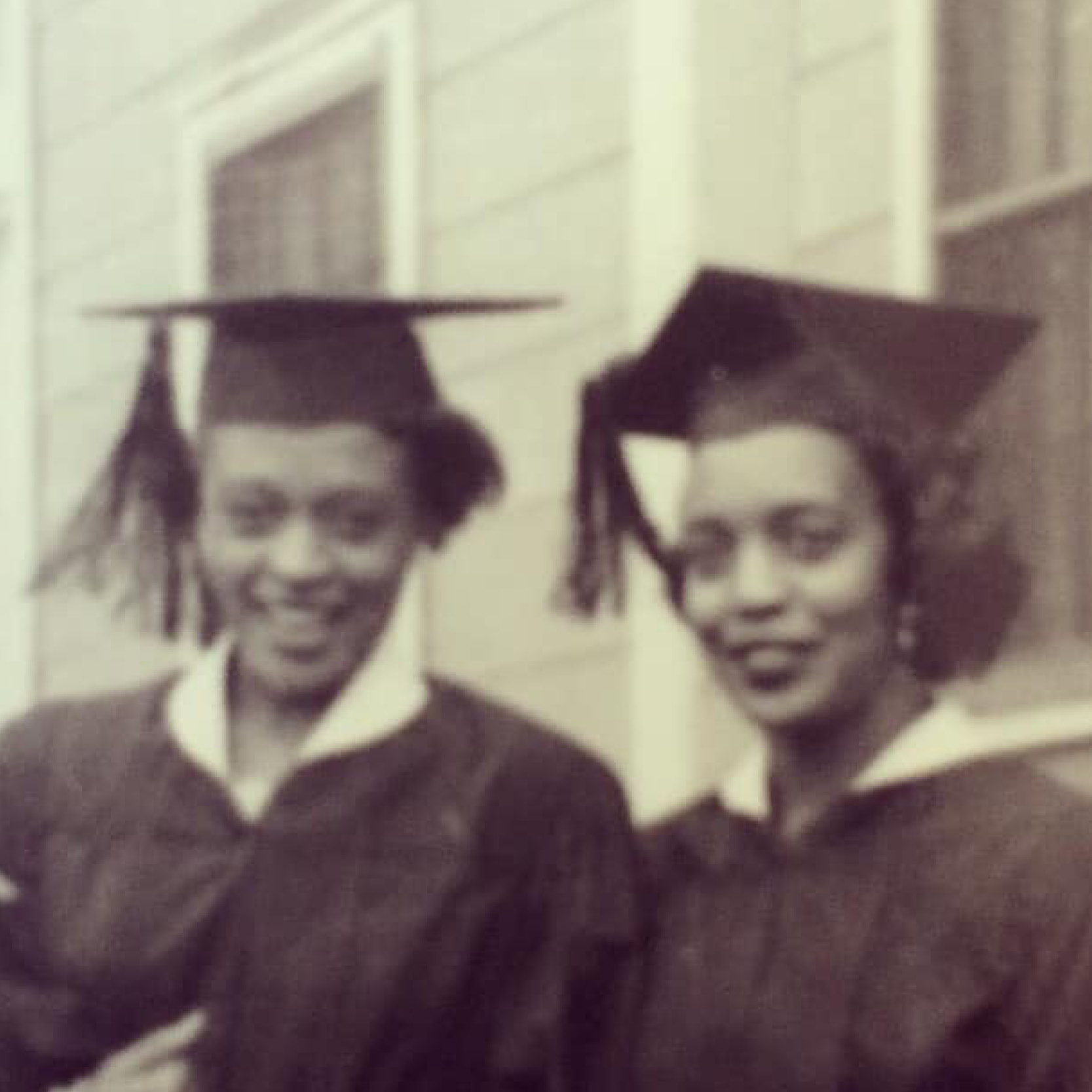 Frieda and Winifred Parker both graduated from Purdue in 1950.