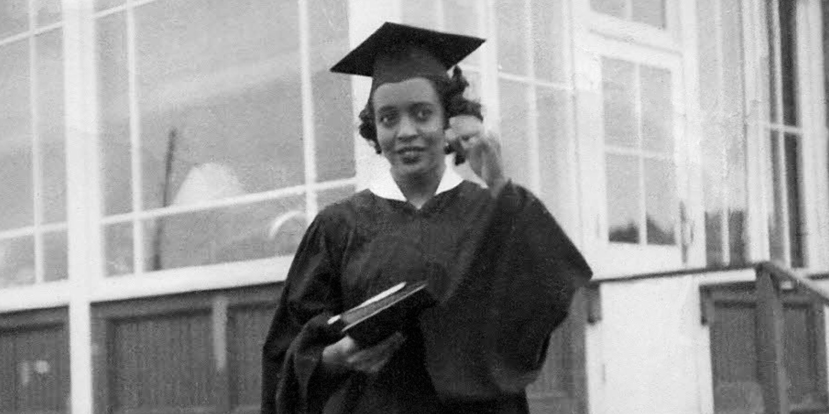 Winifred Parker worked as a microbiologist after graduation and later completed a master's degree in order to work as a career counselor and advocate for the physically challenged.