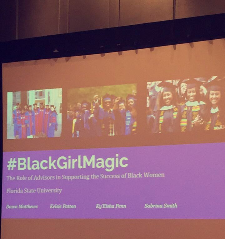 #BlackGirlMagic The Role of Advisors in Supporting the Success of Black Women